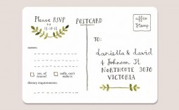 006 Incredible Rsvp Postcard Template For Word High Def