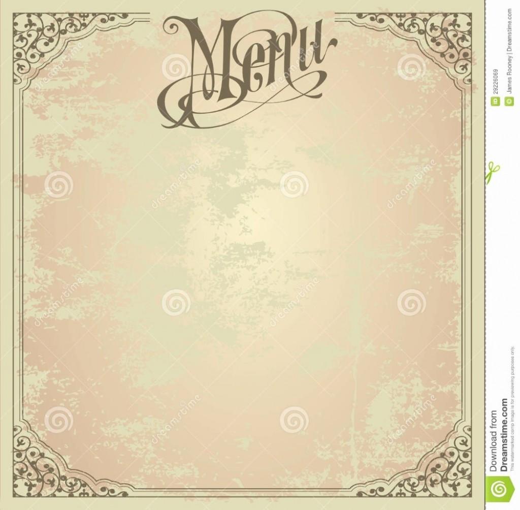 006 Magnificent Blank Restaurant Menu Template Concept  Free Printable DownloadableLarge