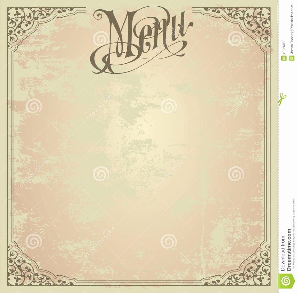 006 Magnificent Blank Restaurant Menu Template Concept  Free Printable DownloadableFull