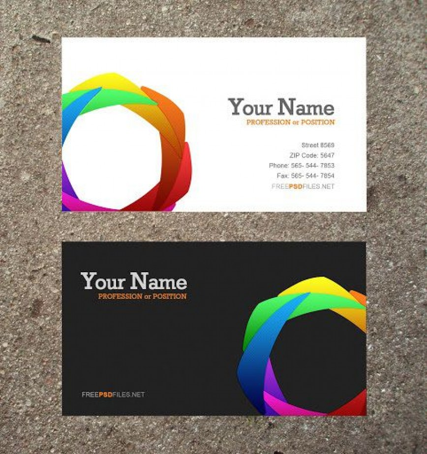 006 Magnificent Busines Card Template Word 2020 Highest Clarity