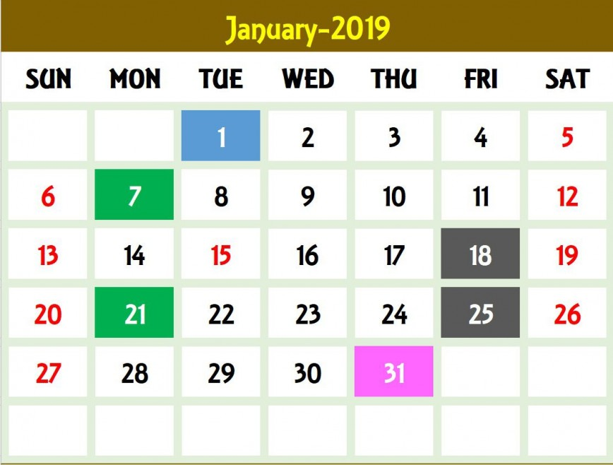 006 Magnificent Calendar 2020 Template Excel Example  One Page Free Biweekly Payroll Format