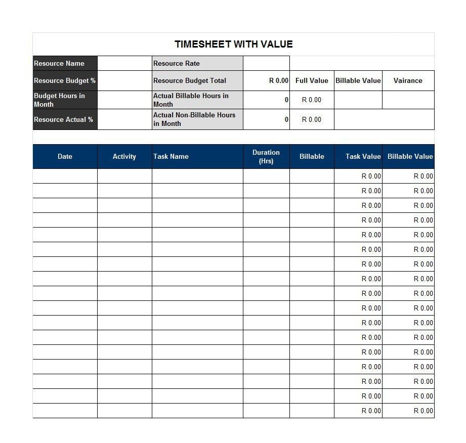 006 Magnificent Employee Time Card Example Image  Examples Sample TemplateFull