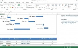 006 Magnificent Excel Project Timeline Template Highest Quality  2020 Xl Tutorial