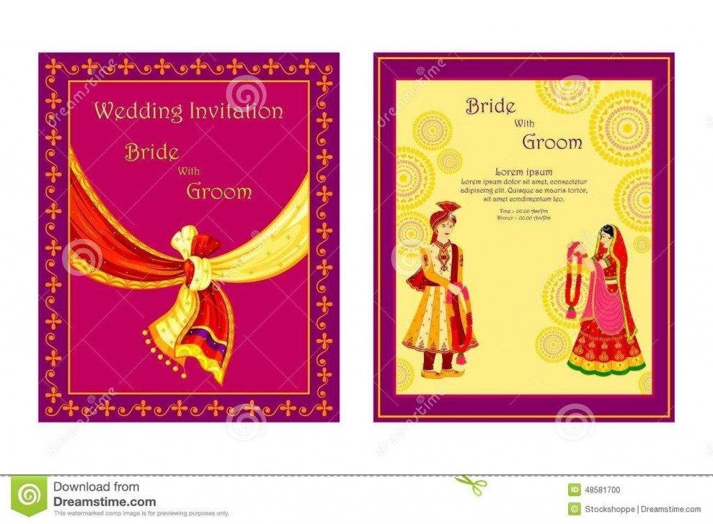 006 Magnificent Free Download Wedding Invitation Maker Software Idea  Hindu Video Card For PcLarge