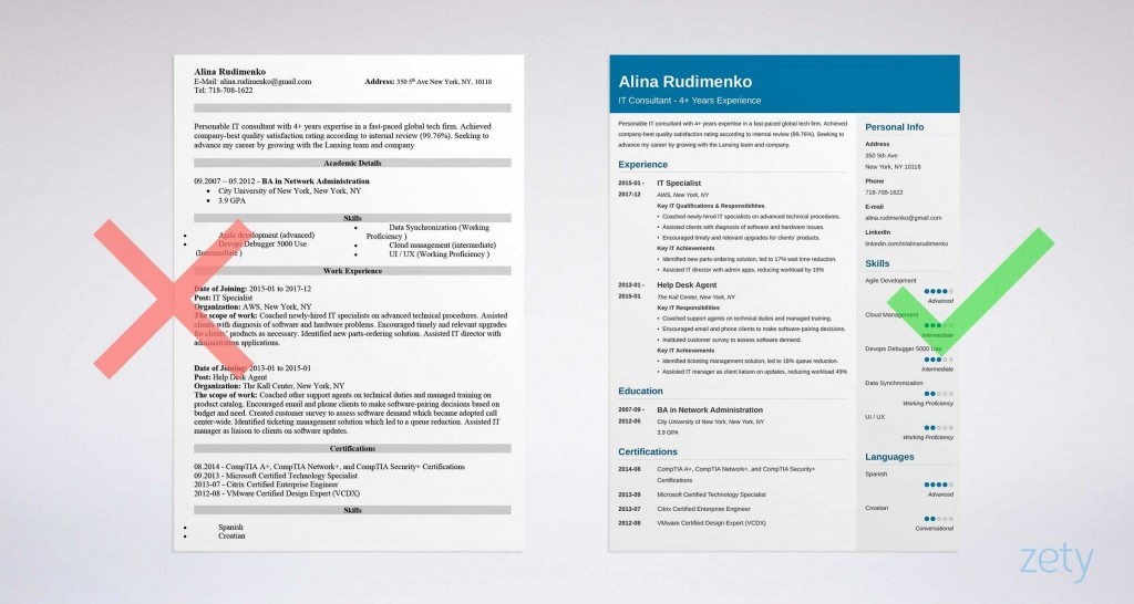 006 Magnificent Information Technology Resume Template High Definition  Specialist Free BestLarge