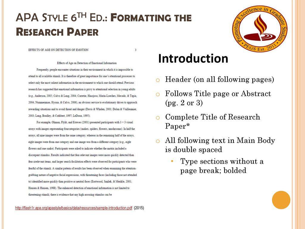 006 Magnificent Literature Review Sample Apa 6th Edition Design  FormatFull