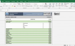 006 Magnificent Monthly Budget Template Excel Photo  Example