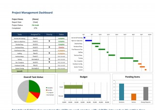 006 Magnificent Multiple Project Tracking Template Xl Inspiration  Spreadsheet Excel320