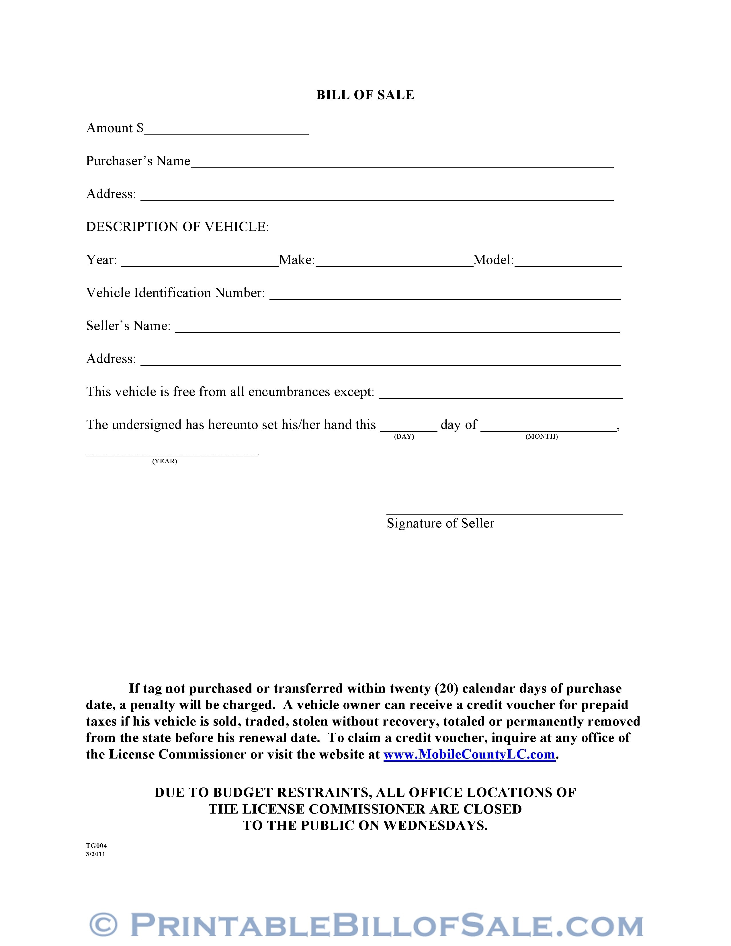 006 Magnificent Printable Bill Of Sale Template Inspiration  Word Saskatchewan Free Used Car OntarioFull