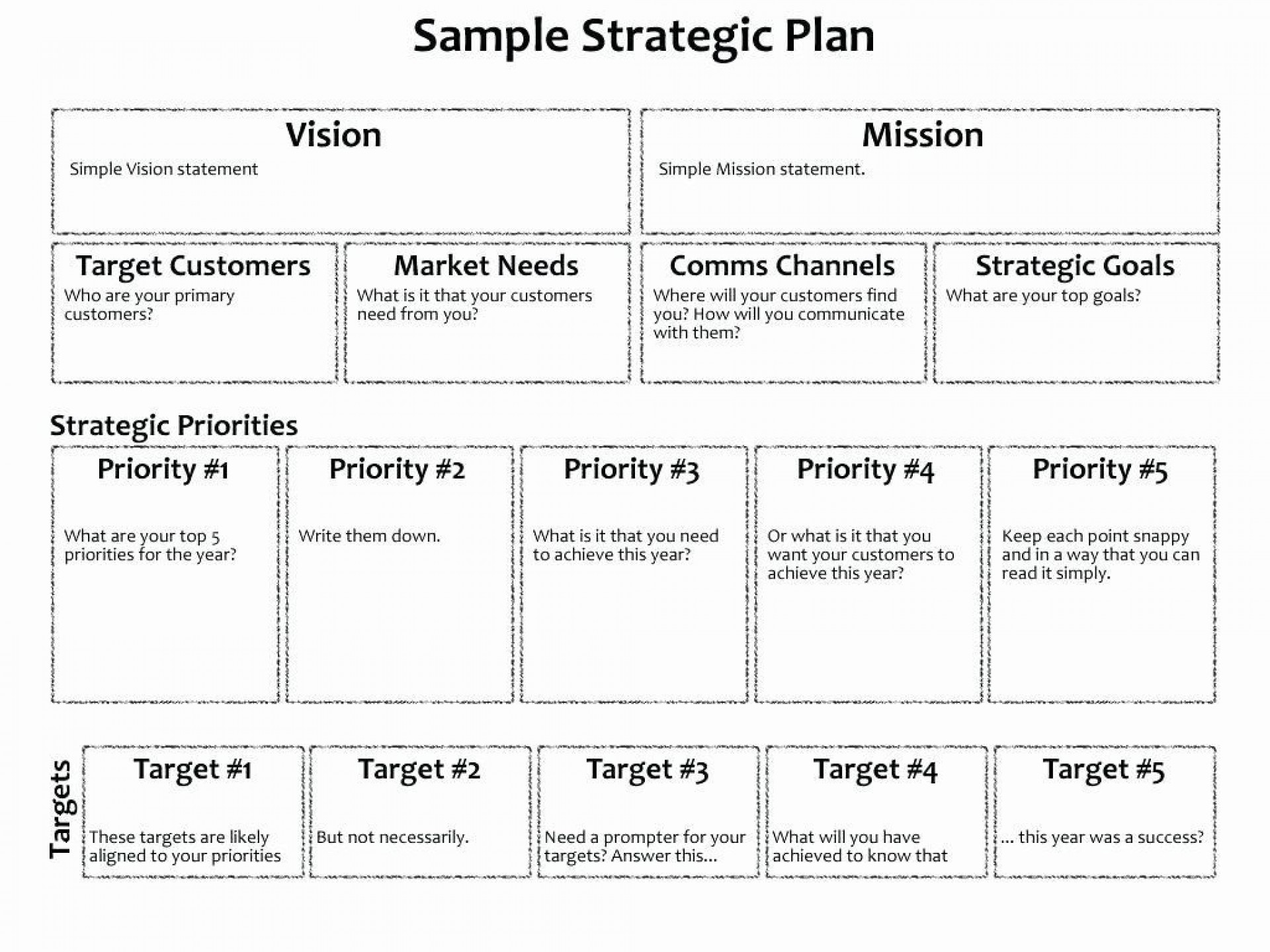 006 Magnificent Strategic Busines Plan Template Highest Clarity  Doc Word Sample1920