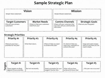 006 Magnificent Strategic Busines Plan Template Highest Clarity  Development Word Sample360