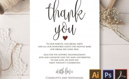 006 Magnificent Wedding Thank You Card Template Example  Message Sample Free Download Wording For Money