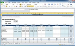 006 Magnificent Work Schedule Format In Excel Download Highest Quality  Template Employee Training Plan Free