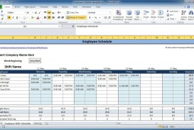006 Magnificent Work Schedule Format In Excel Download Highest Quality  Order Template Free