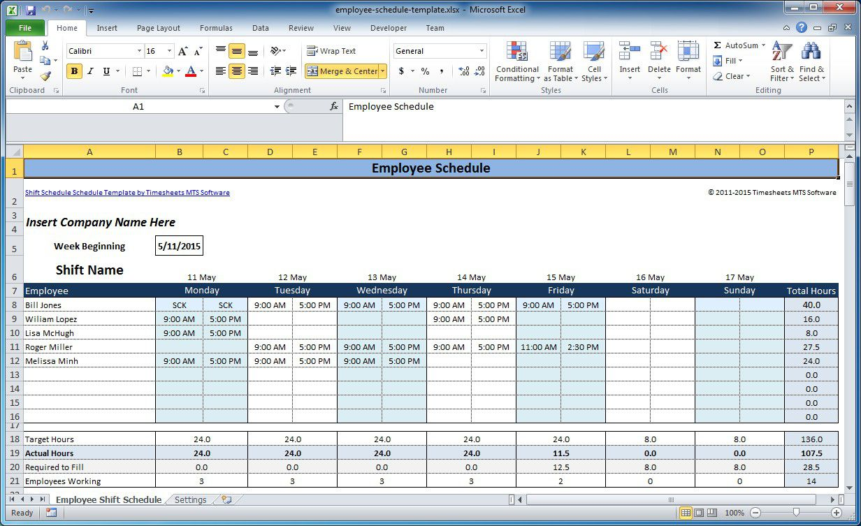 006 Magnificent Work Schedule Format In Excel Download Highest Quality  Order Template FreeFull