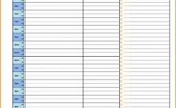006 Marvelou 24 Hour Schedule Template Sample  7 Day Work Calendar Word
