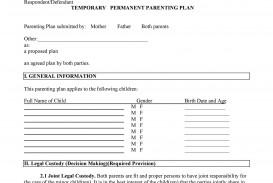 006 Marvelou Child Custody Agreement Template Idea  Texa Nj Uk