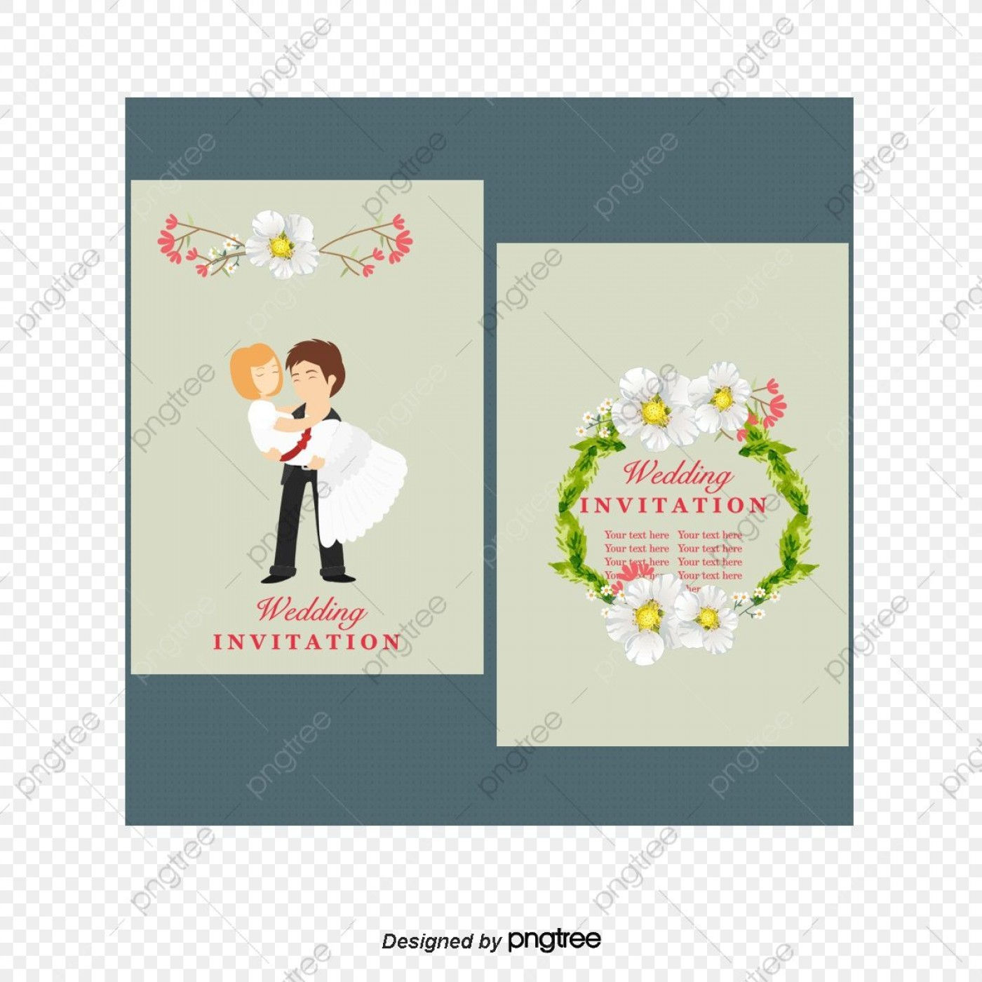 006 Marvelou Free Download Marriage Invitation Template Design  Card Psd After Effect1400