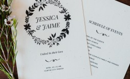 006 Marvelou Free Printable Wedding Program Paddle Fan Template Concept  Templates
