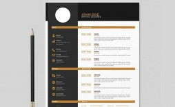 006 Marvelou Free Resume Template 2015 Inspiration