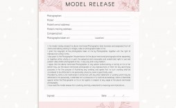 006 Marvelou Model Release Form Template Highest Clarity  Photography Uk Gdpr Australia