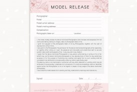 006 Marvelou Model Release Form Template Highest Clarity  Photographer Gdpr Simple