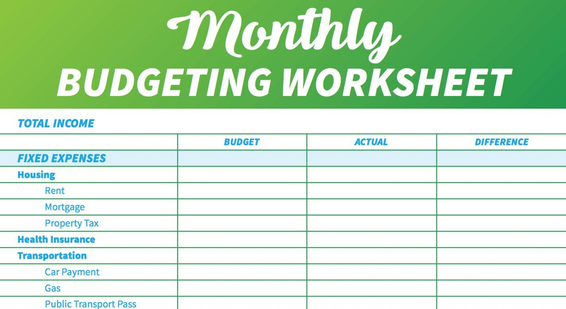 006 Marvelou Simple Weekly Budget Template Highest Quality  Planner Personal Printable1920