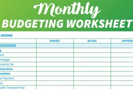 006 Marvelou Simple Weekly Budget Template Highest Quality  Planner Personal Printable