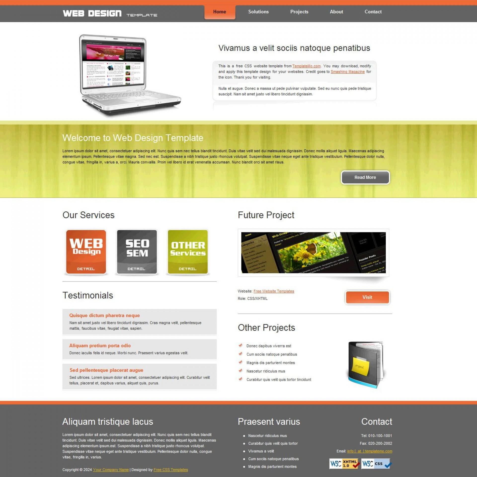006 Marvelou Website Design Template Free Picture  Asp.net Web Download Psd1920