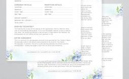 006 Marvelou Wedding Photographer Contract Template Sample  Free Photography Uk