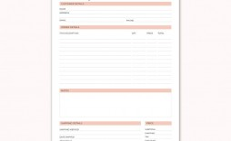 006 Outstanding Custom Order Form Template High Resolution  Cake Clothing Work