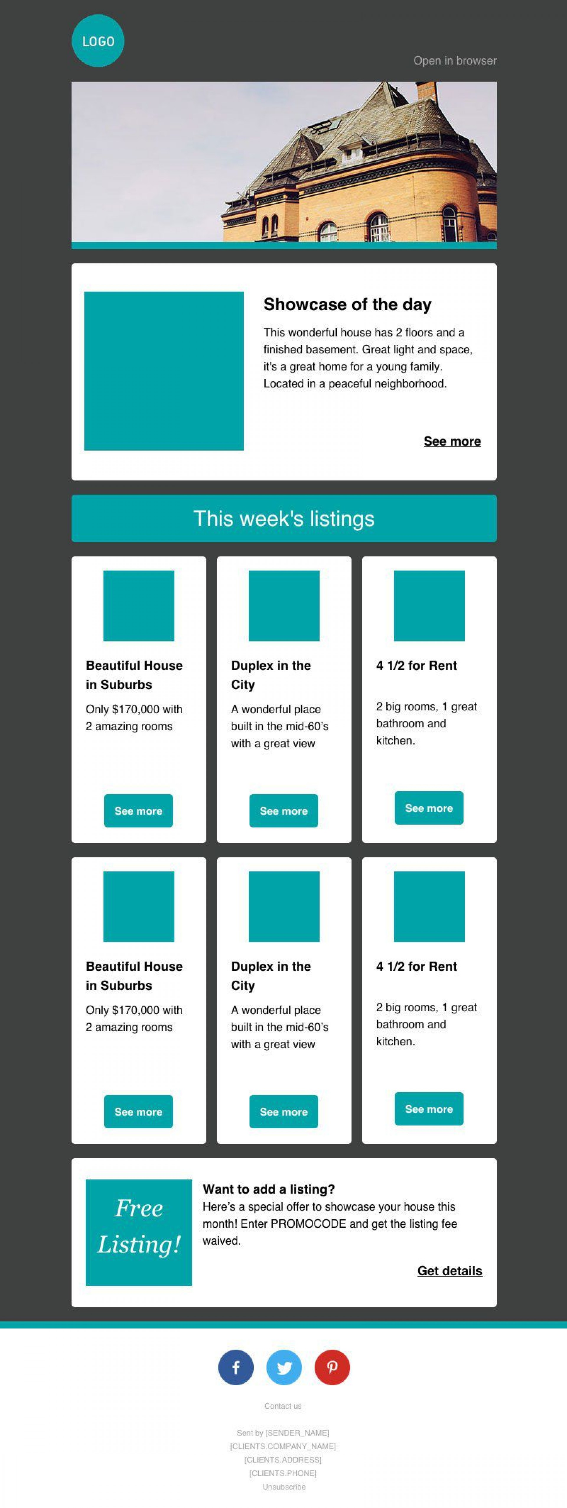 006 Outstanding Free Email Newsletter Template Download Example  Busines Psd1920