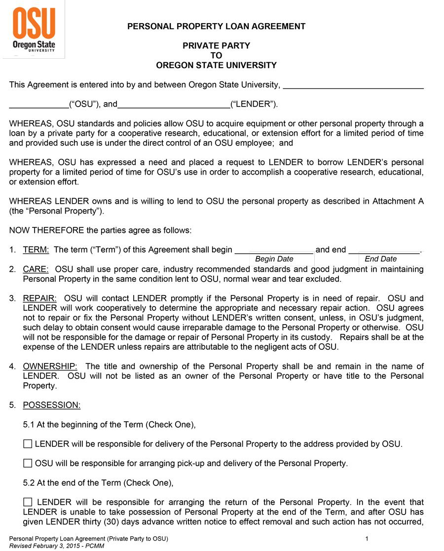 006 Outstanding Free Loan Agreement Template Word Picture  Personal Microsoft South AfricaFull
