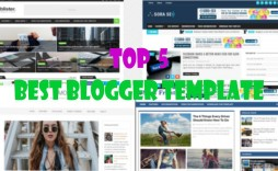 006 Outstanding Free Responsive Seo Friendly Blogger Template Photo