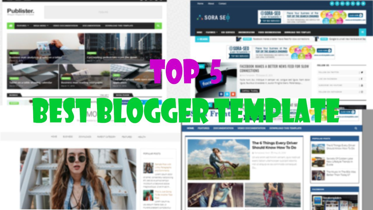 006 Outstanding Free Responsive Seo Friendly Blogger Template Photo Full