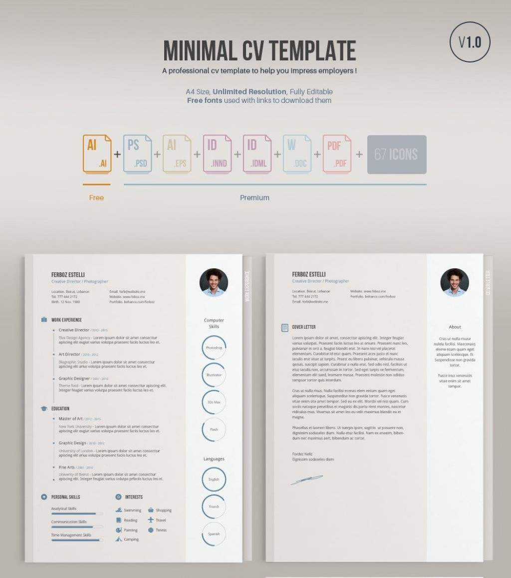 006 Outstanding Free Resume Template Pdf Highest Quality  Student Format Download Word SampleLarge