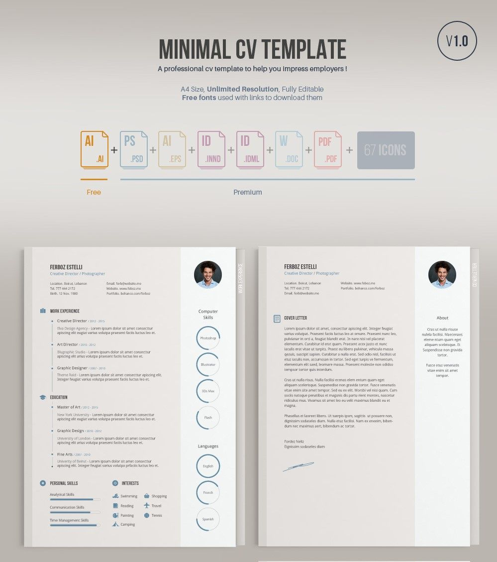 006 Outstanding Free Resume Template Pdf Highest Quality  Student Format Download Word SampleFull