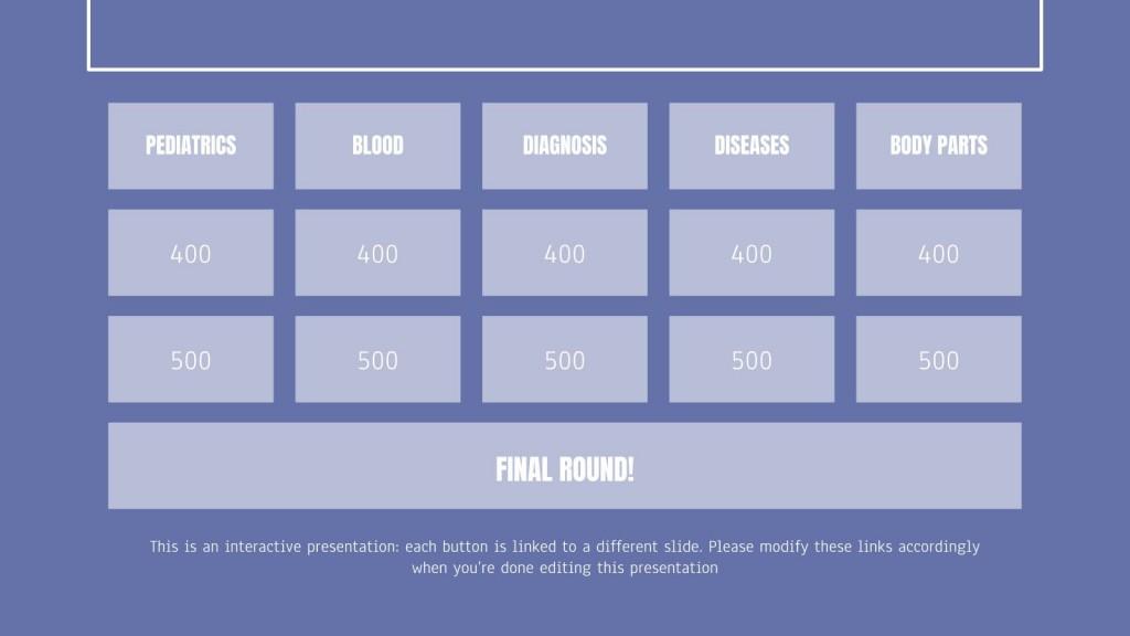 006 Outstanding Jeopardy Template Google Slide Highest Clarity  Slides Board Blank BestLarge