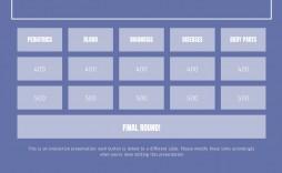 006 Outstanding Jeopardy Template Google Slide Highest Clarity  Slides Board Blank Best