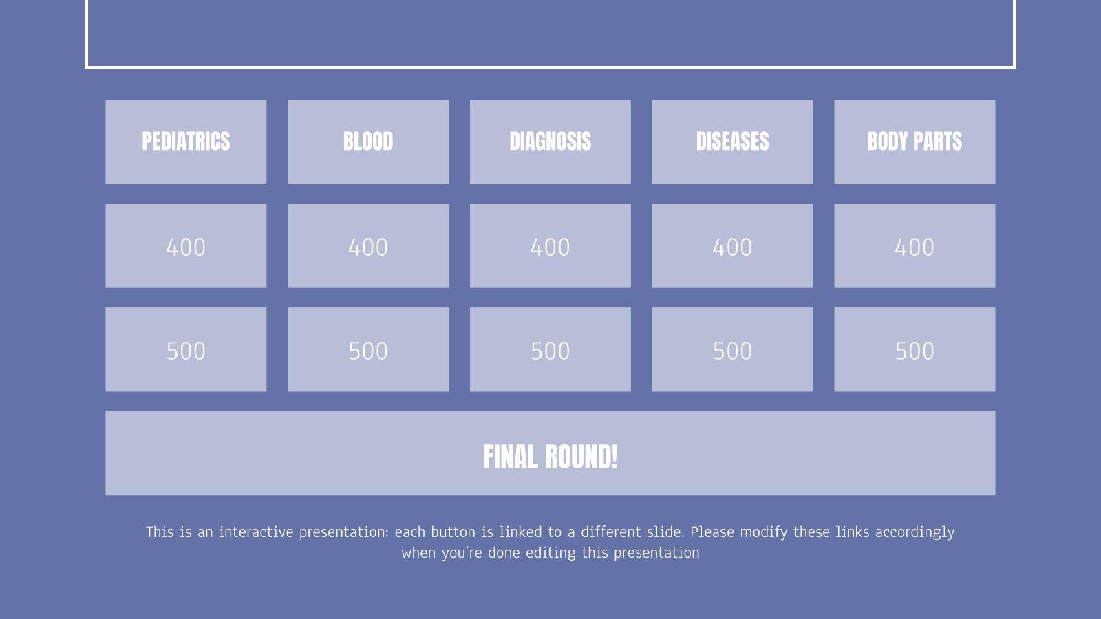 006 Outstanding Jeopardy Template Google Slide Highest Clarity  Slides Board Blank BestFull