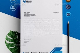 006 Outstanding Letterhead Template Free Download Psd Image  Corporate A4