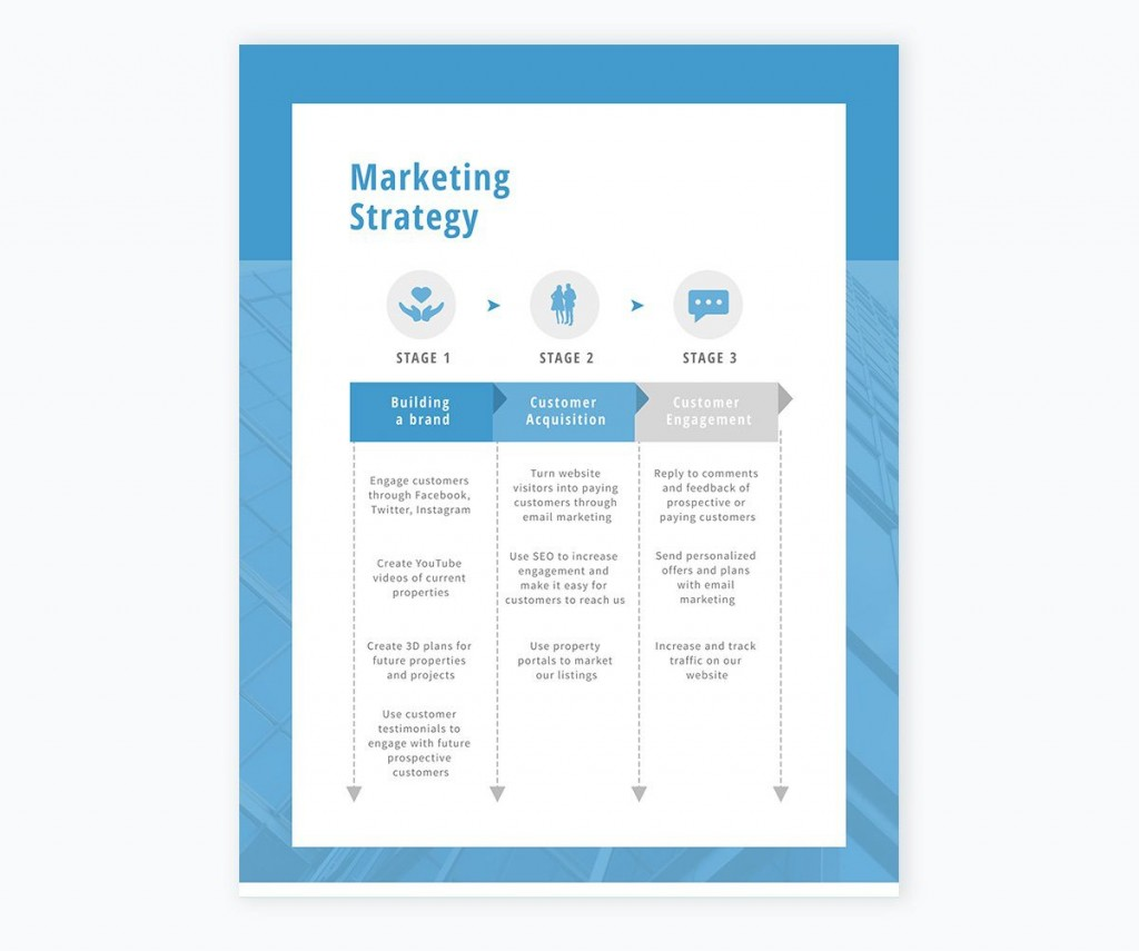 006 Outstanding Sale And Marketing Plan Template Free Picture  Download HotelLarge