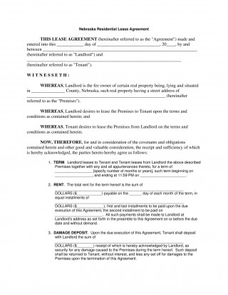 006 Outstanding Template For Lease Agreement Rental Property Concept 320