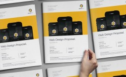 006 Outstanding Web Design Proposal Template Free Sample  Freelance Download