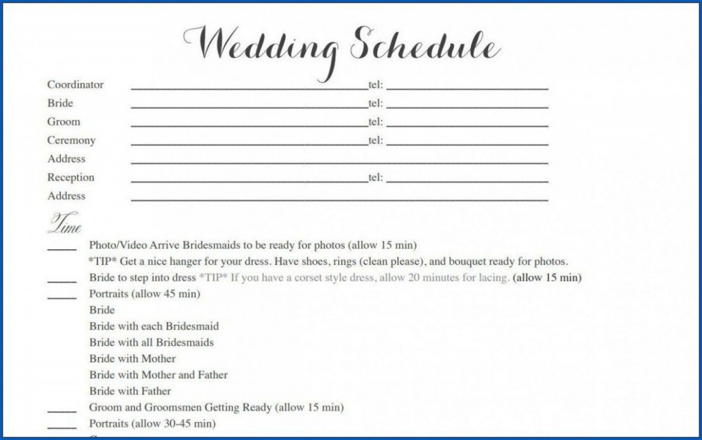 006 Outstanding Wedding Timeline Template Free Download Highest Quality Large