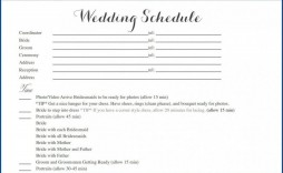 006 Outstanding Wedding Timeline Template Free Download Highest Quality