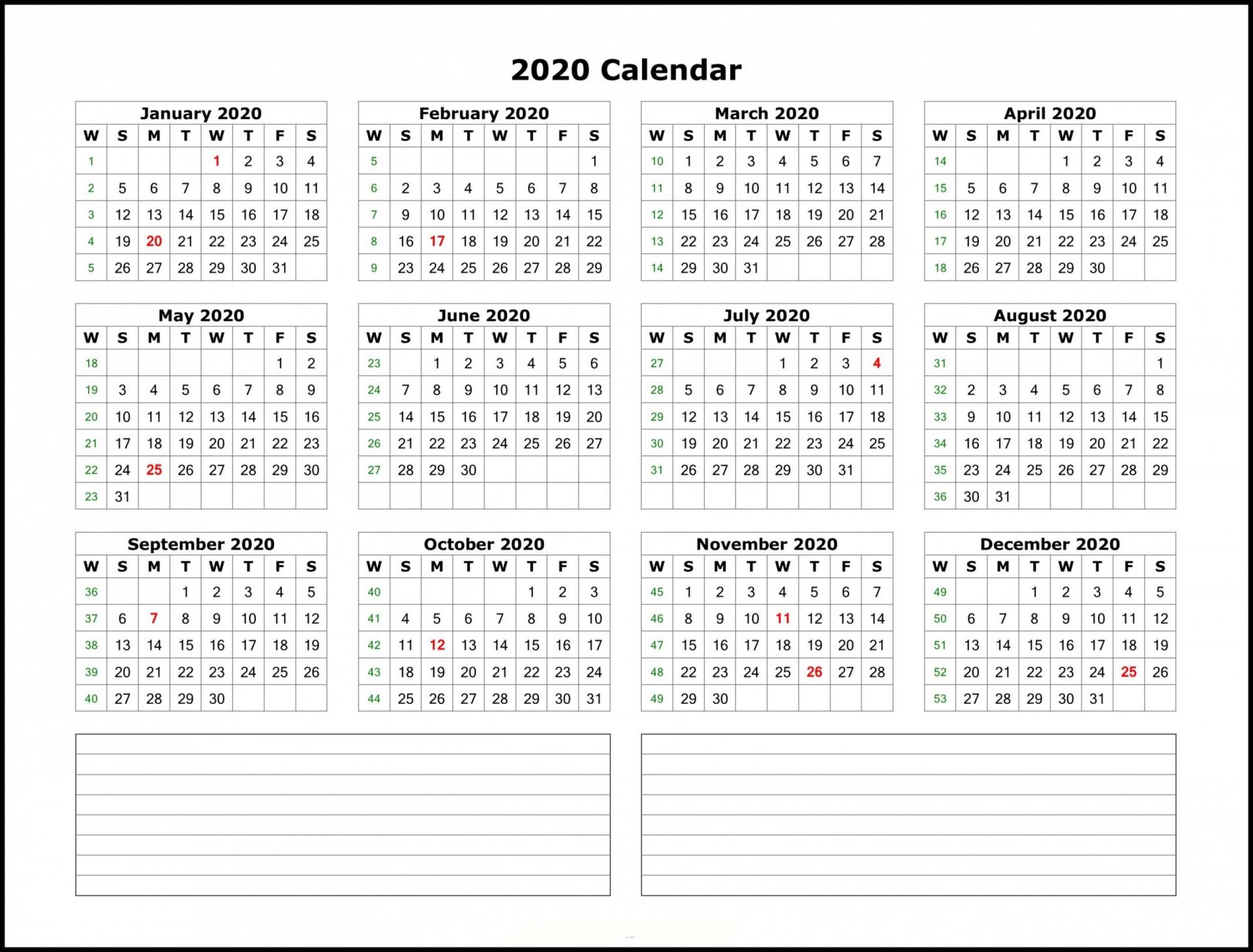 006 Phenomenal 2020 Payroll Calendar Template Highest Quality  Biweekly Canada Free Excel1920