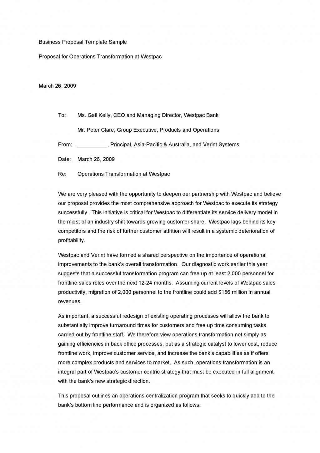 006 Phenomenal Busines Proposal Letter Template Picture  Free DownloadLarge