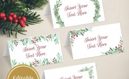 006 Phenomenal Free Printable Christma Tent Card Template High Resolution  Templates