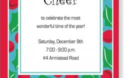 006 Phenomenal Holiday Open House Invitation Template High Resolution  Christma Free Printable Wording Idea